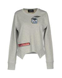 Karl Lagerfeld Gray Sweatshirt