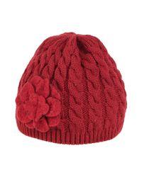 Chapeau Pinko en coloris Red