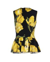 Dolce & Gabbana Yellow Top