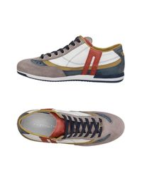 CafeNoir Gray Low-tops & Sneakers for men