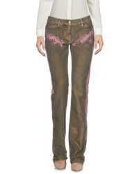 Just Cavalli Natural Casual Pants