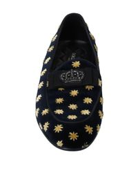 Dolce & Gabbana Mokassin in Black für Herren