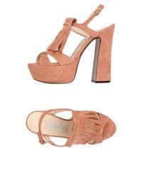 L'Autre Chose Pink Sandals