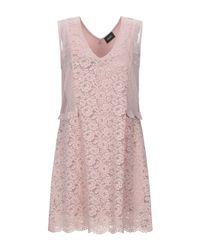 Liu Jo Pink Kurzes Kleid