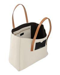 Pollini White Handbag