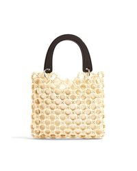 Bolso de mano TOPSHOP de color Natural