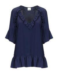 Blusa Pinko de color Blue