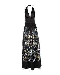 Roberto Cavalli Black Long Dress