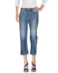 Marc By Marc Jacobs Blue Denim Pants