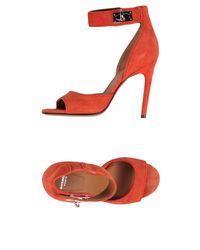 Sandalias Givenchy de color Red