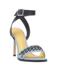 DIESEL Blue Sandale