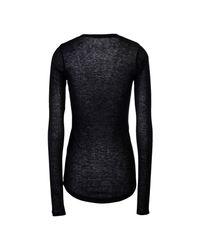 Étoile Isabel Marant Black T-shirt