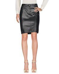 Falda corta Boutique Moschino de color Black
