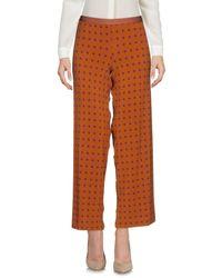Pantalones piratas Siyu de color Brown