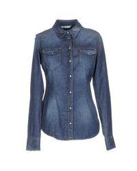 Liu Jo Blue Denim Shirt