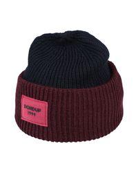 Cappello di Dondup in Multicolor da Uomo