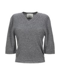 Pullover di N.O.W. ANDREA ROSATI CASHMERE in Gray
