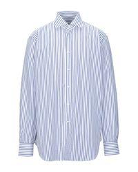 Camisa Caliban de hombre de color Blue