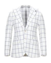 L.b.m. 1911 White Suit Jacket for men