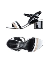 Donna Soft Black Sandals