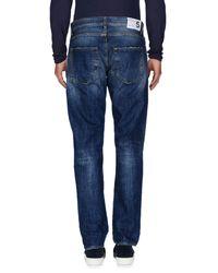Department 5 - Blue Denim Trousers for Men - Lyst