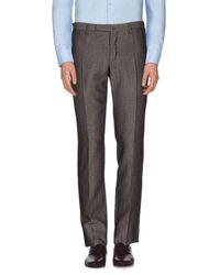 Pantalon Incotex pour homme en coloris Gray