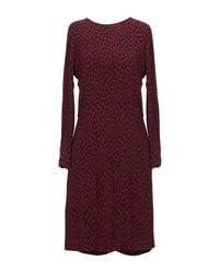 Suoli Purple Short Dress