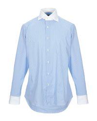 Camisa MASSIMO LA PORTA de hombre de color Blue