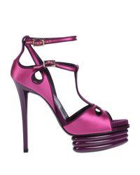 Roger Vivier Purple Sandale