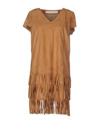 DROMe Natural Short Dress