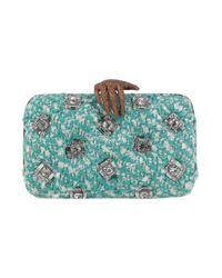 Benedetta Bruzziches Blue Handbag