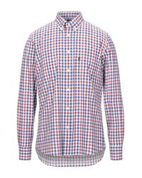 Barbour Red Shirt for men