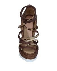 Ovye' By Cristina Lucchi Brown Espadrilles