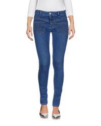 Love Moschino Blue Denim Pants