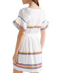 Lisa Marie Fernandez White Kurzes Kleid
