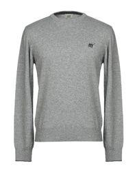 Pullover di Henry Cotton's in Gray da Uomo