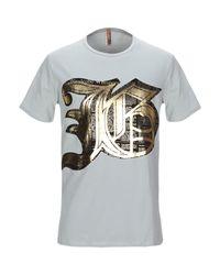 T-shirt di John Galliano in Gray da Uomo