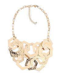 Kenneth Jay Lane Metallic Necklace