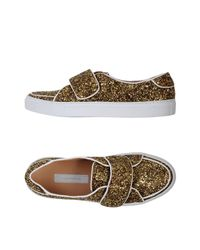 L'Autre Chose Metallic Low-tops & Sneakers