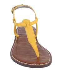 Sam Edelman Yellow Gigi Flat Sandal