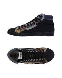 Springa Yellow High-tops & Sneakers for men