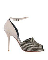 Santoni Natural Sandals