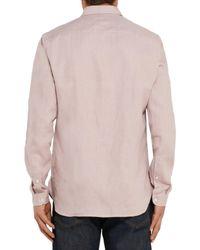 Oliver Spencer Hemd in Pink für Herren