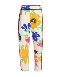 Victoria, Victoria Beckham White Casual Pants