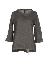 Manila Grace Gray Sweatshirt