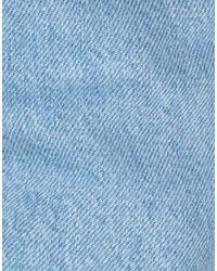 MSGM Blue Jeanshose