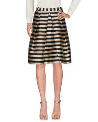 Pennyblack Metallic Knee Length Skirt