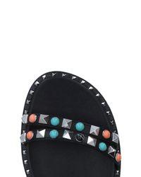 Ash Black Sandals