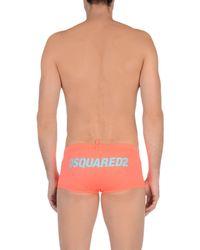 DSquared² Multicolor Swimming Trunks for men