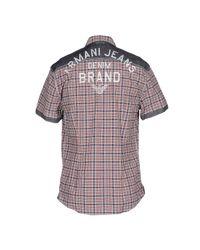 Armani Jeans Blue Shirt for men